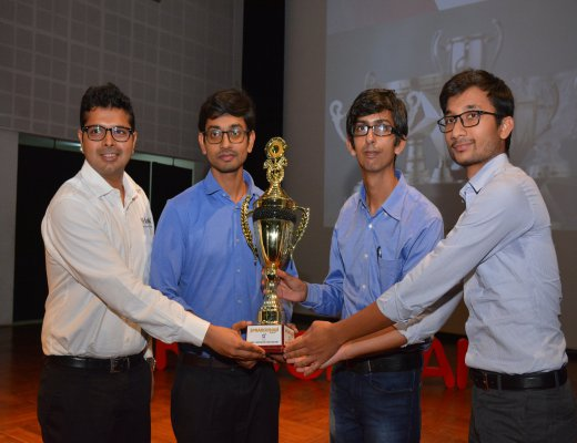 IRMA participants win first prize at Prabodhan '19 at IIM Indore